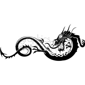 300x300 Royalty Free Chinese Dragons 015 383895 Vector Clip Art Image