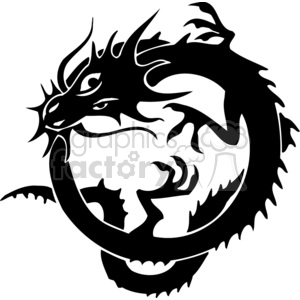 300x300 Royalty Free Chinese Dragons 029 383882 Vector Clip Art Image