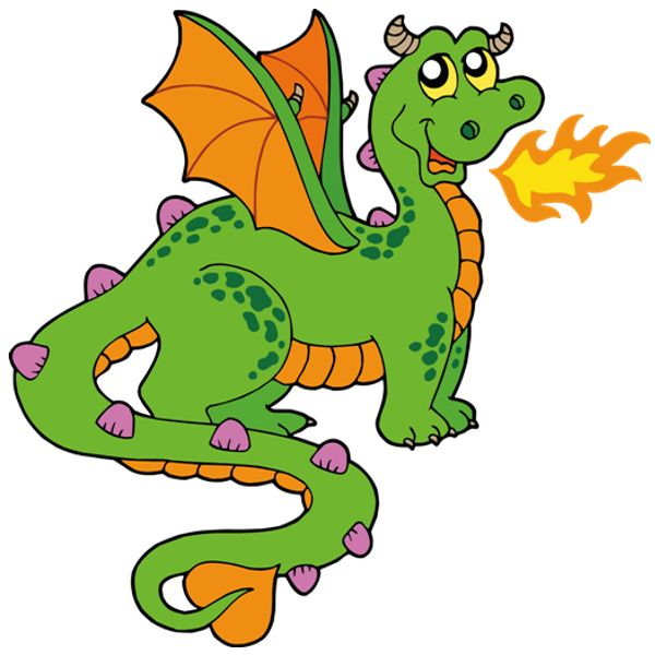 600x600 Chinese Dragon Clipart Fairytale