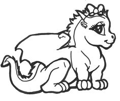 236x199 Chinese Dragon Coloring Pages Printable Artsy Cakes