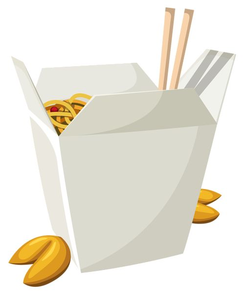 501x600 Chinese Food Container Clip Art Cliparts