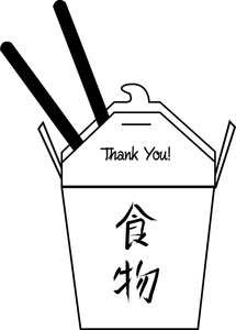 215x300 Chinese Take Out Clipart Image