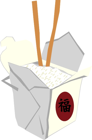 390x593 Free Chinese Food Clipart Image