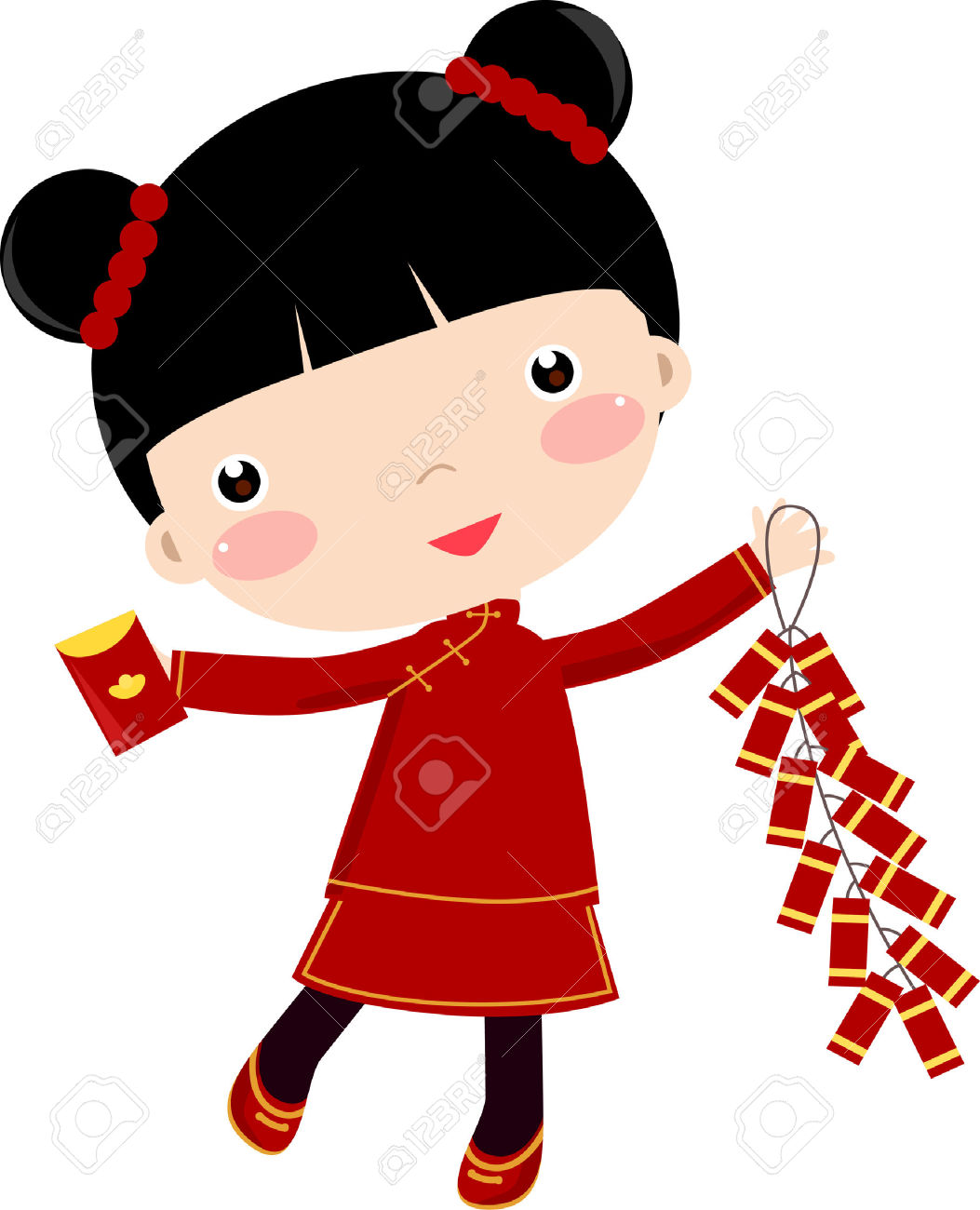1053x1300 Chinese Children Clipart