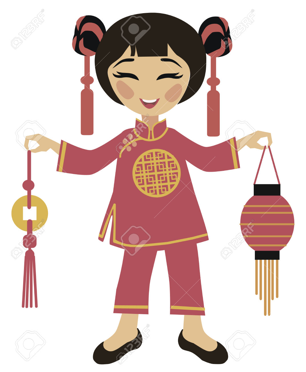 1071x1300 Costume Clipart Chinese New Year