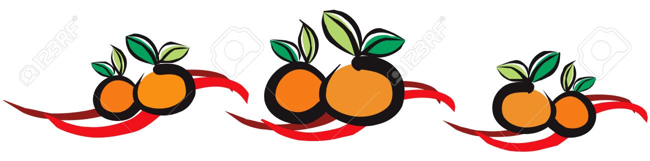 1300x322 Orange (Fruit) Clipart Chinese New Year Orange