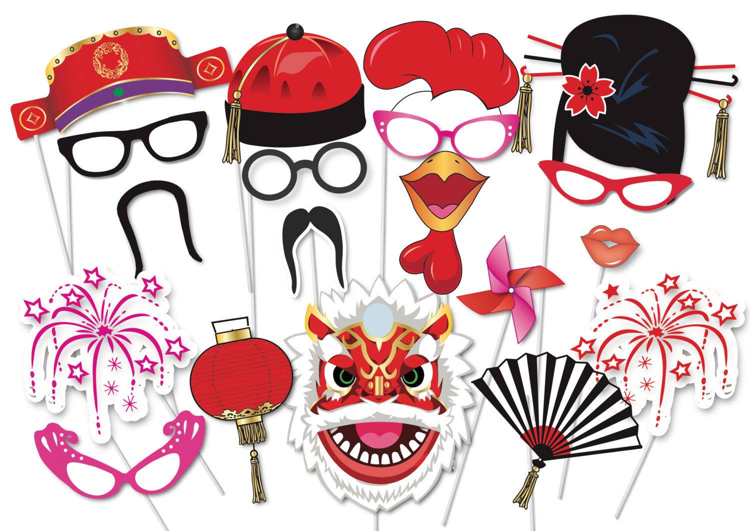 1500x1061 Asians Clipart Chinese New Year Decoration