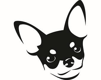 340x270 Chihuahua Clipart Head