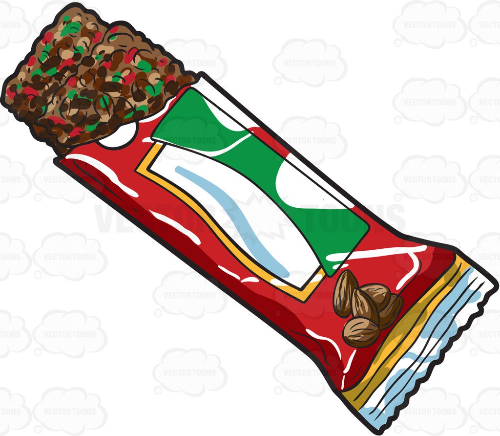 Chocolate Bar Cartoon Clipart