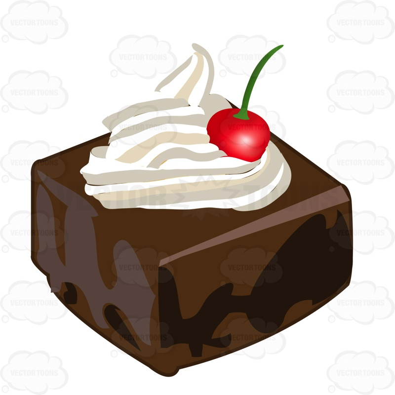 800x800 Chocolate Cake Clipart Piece Cake