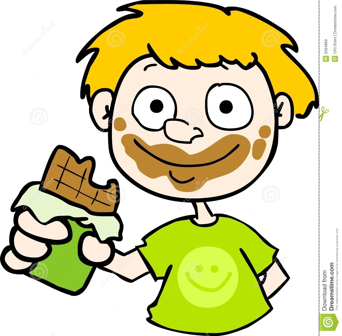 1327x1300 Eating Candy Clipart