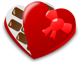 256x208 Free Valentine Candy Clipart, 1 Page Of Public Domain Clip Art