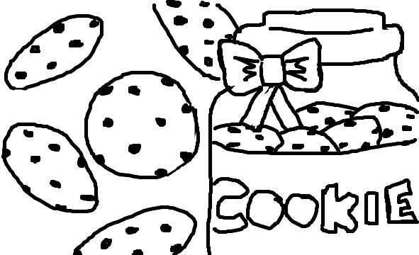 free printable coloring pages cookies - photo#40