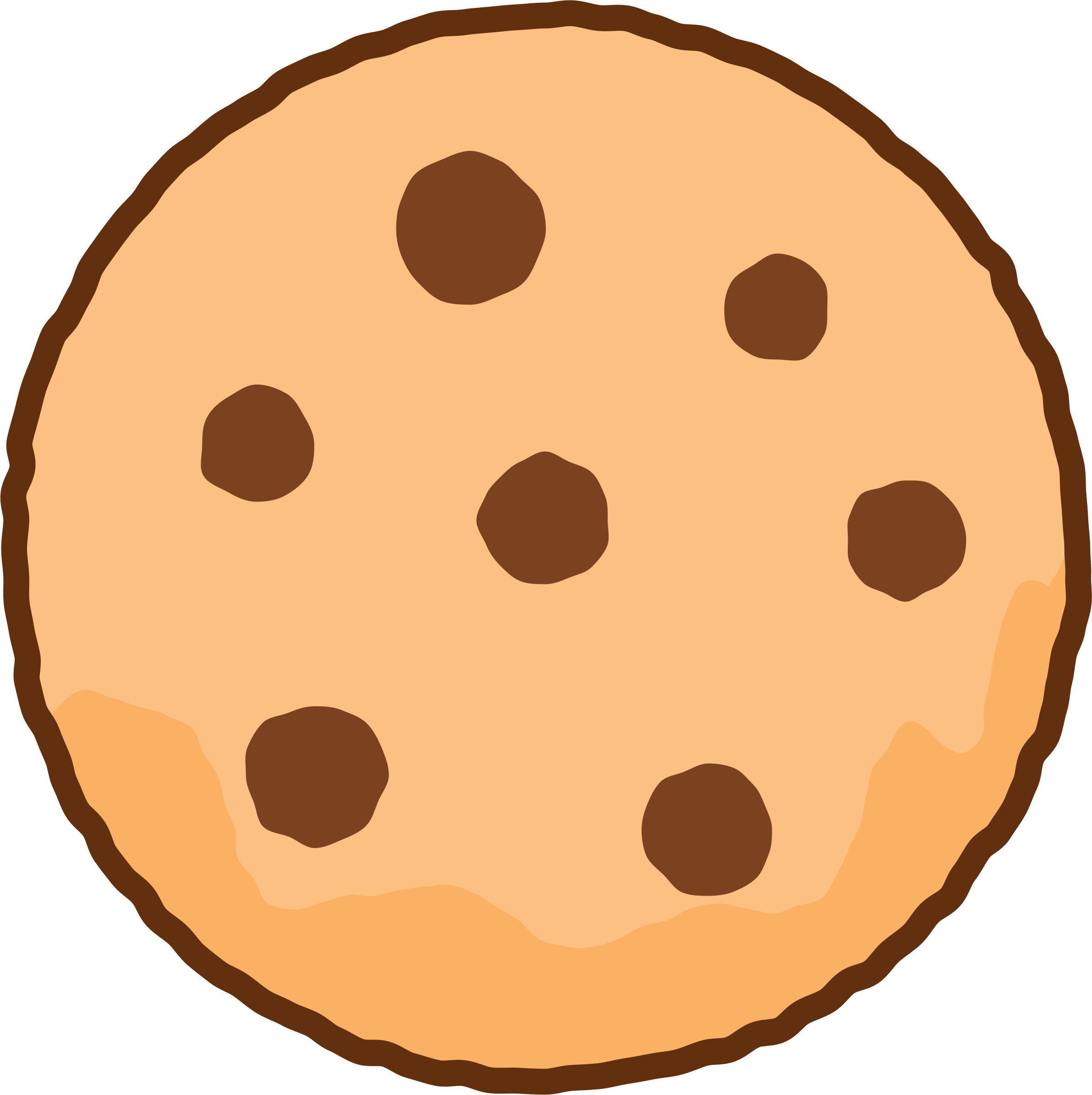 Chocolate Chip Cookie Coloring Pages | Free download best ...