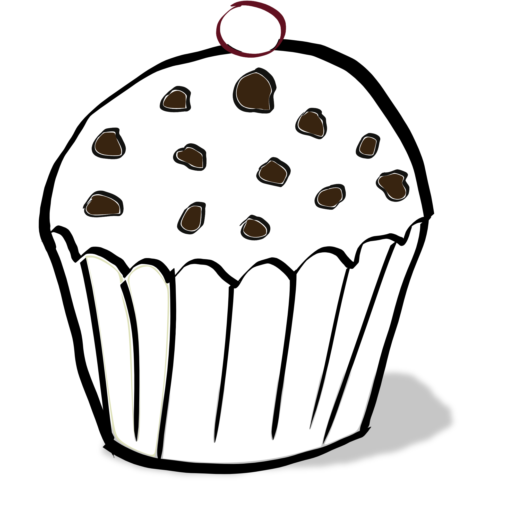 Chocolate Chip Cookies Coloring Pages Free Download Best Chocolate