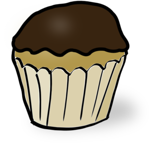 300x285 Chocolate Chip Muffin Clipart Collection