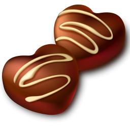256x256 Chocolate Clipart Candy Food Free Clipart Images 3