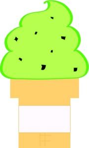 180x300 Ice Cream Clipart Image