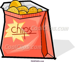 300x246 Bag Of Chips Vector Clip Art