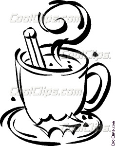 236x300 Cup Of Hot Chocolate Vector Clip Art
