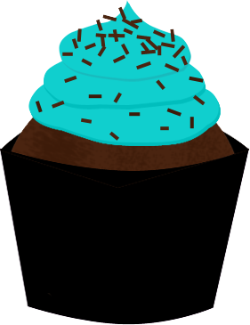 281x365 Frosting Clipart Chocolate Muffin