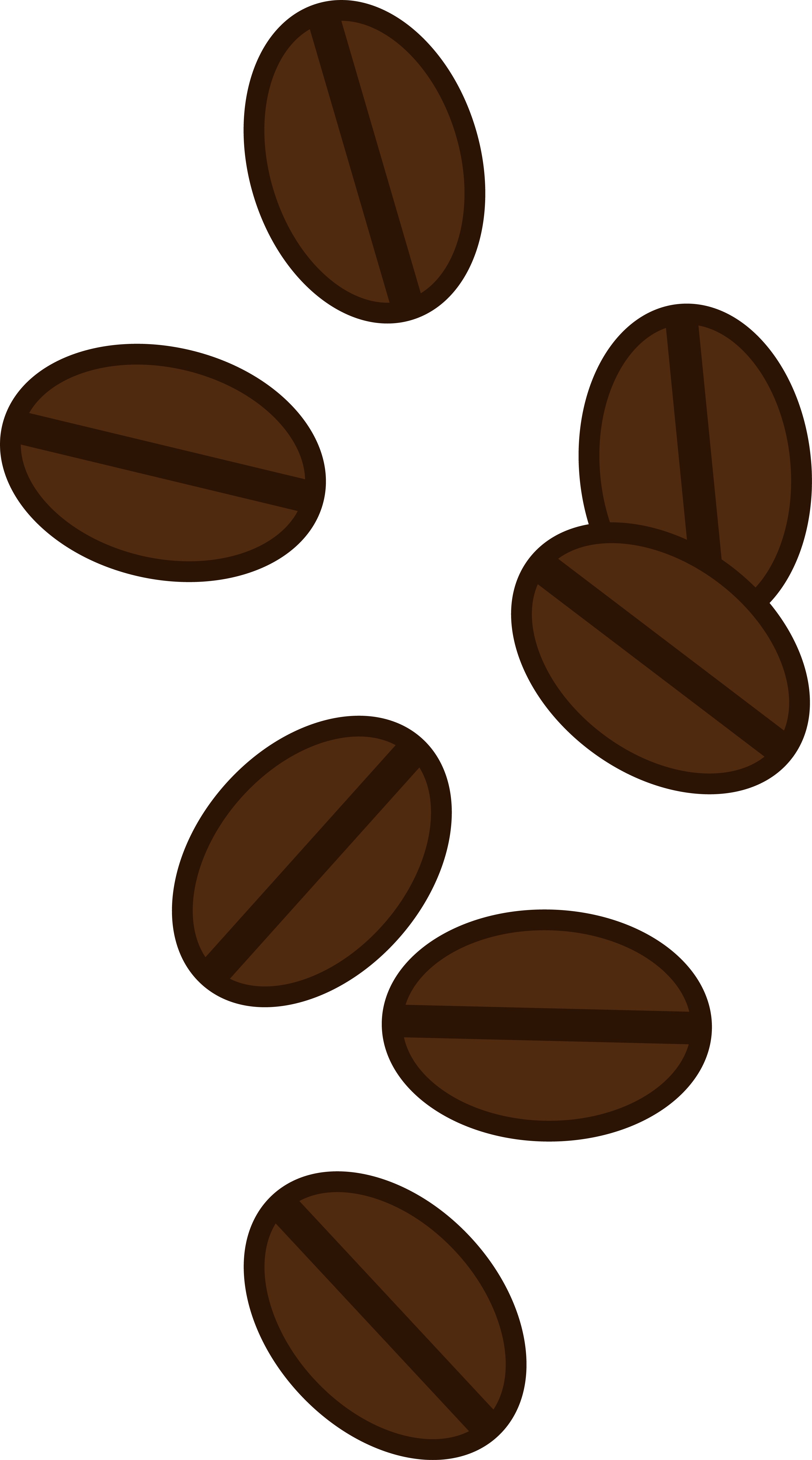 3252x5846 Coffee Beans Clip Art