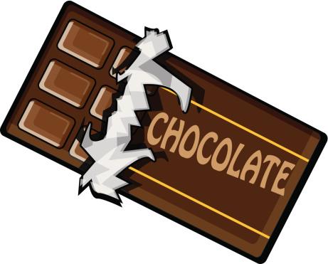 461x371 Chocolate Bar Clipart