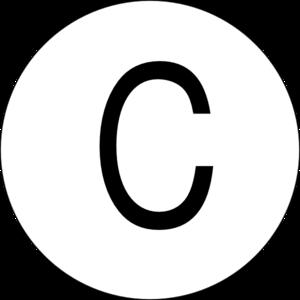 300x300 Multiple Choice C Clip Art