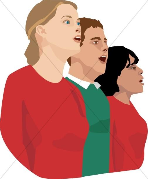 505x612 Christmas Youth Choir Youth Choir Clipart
