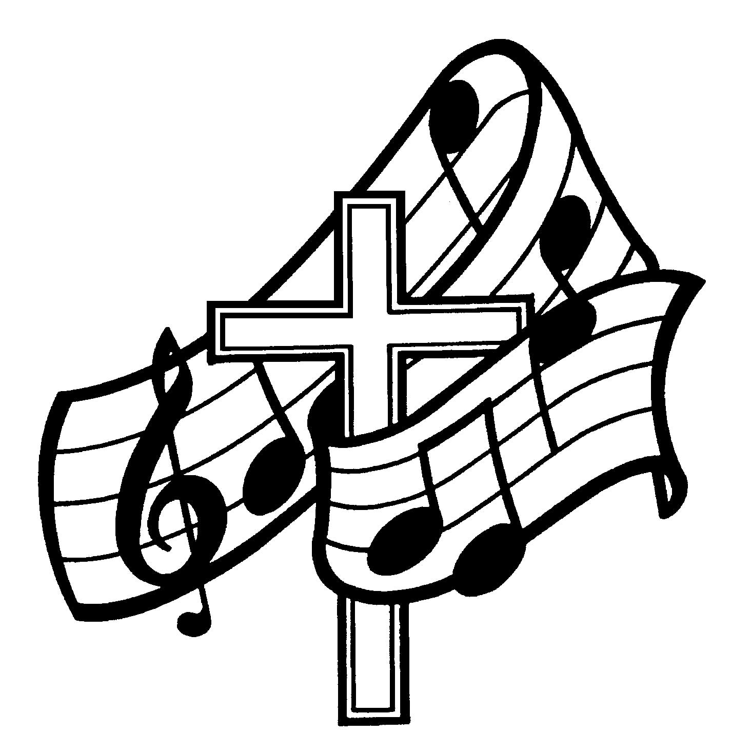 Choir Clipart Black And White