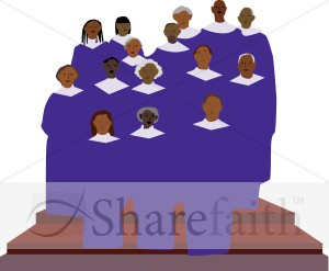 300x247 African American Gospel Singers Clipart Church Choir Clipart