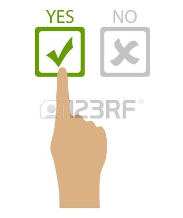 379x450 Choose Yes Or No, Vector Clip Art Royalty Free Cliparts, Vectors