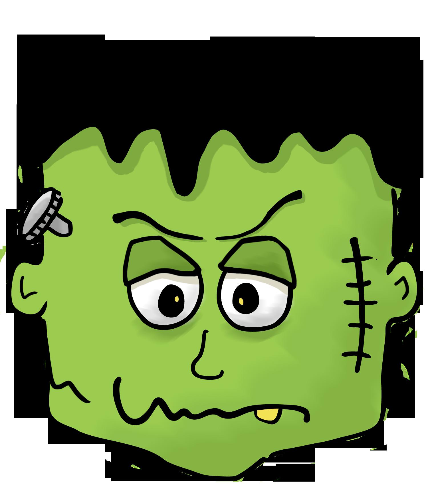 1500x1763 Halloween Frankenstein Clipart Kid