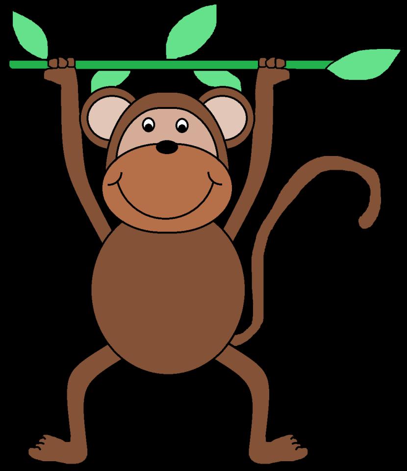 830x960 Monkey Clip Art