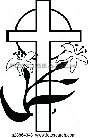 301x470 Easter Clipart Religious Clip Art Cross Holiday Lily Religion