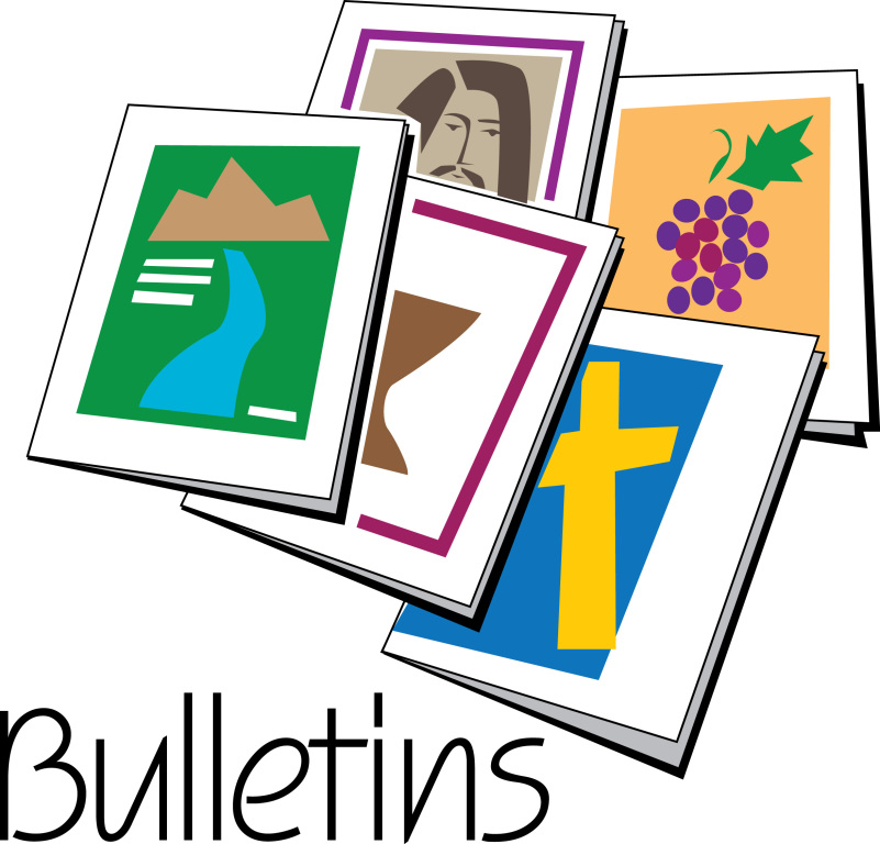 801x768 Marvellous Ideas Church Bulletin Clip Art Free Cover Covers