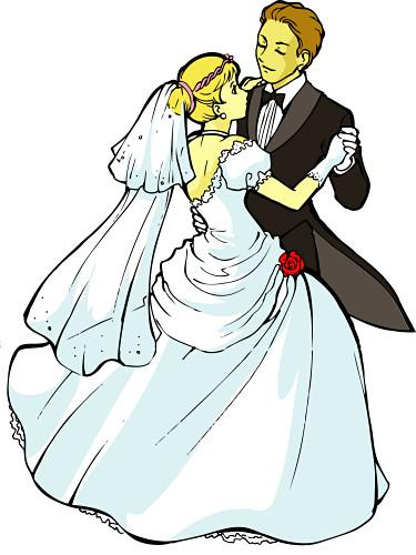375x500 Christian Wedding Clipart Colour
