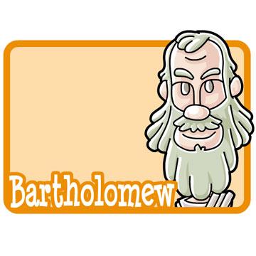 360x360 Christian Apostle Bartholomew