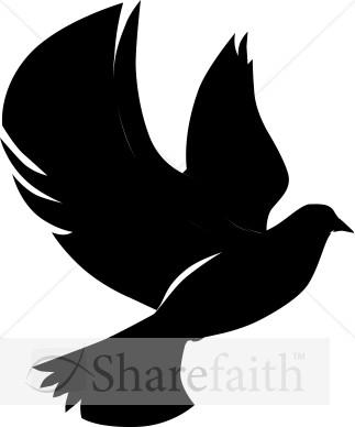 323x388 Best Photos Of Dove Silhouette Clip Art