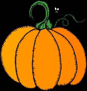 345x359 Halloween Fall Clipart