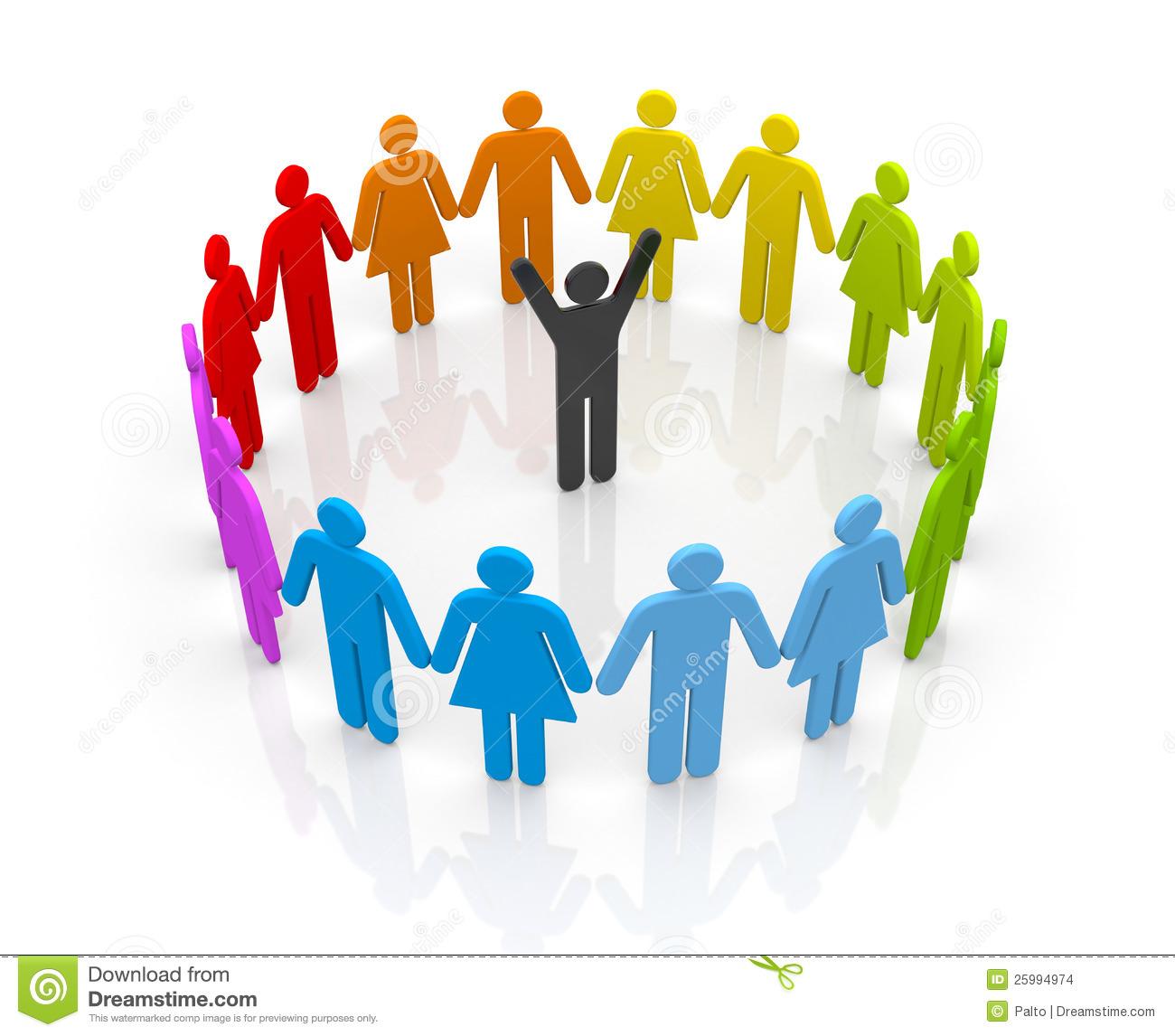 1300x1146 Crowd Clipart Leadership