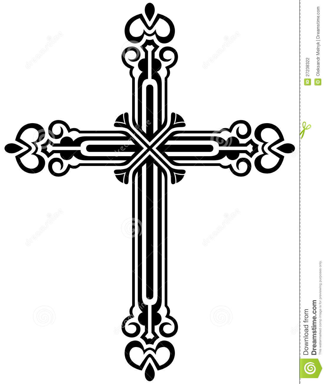 1105x1300 Christian Cross Black And White Clipart