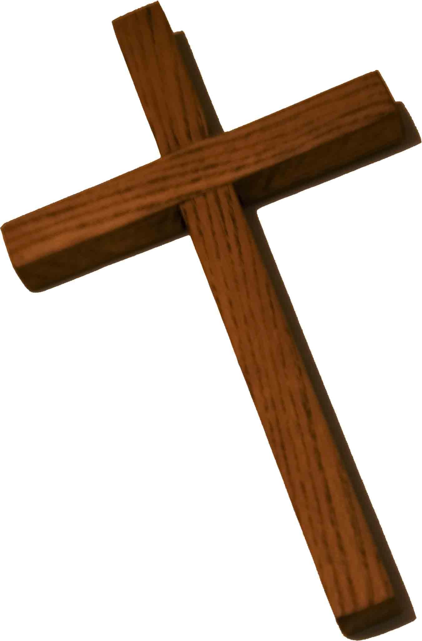 1352x2053 Christian Wooden Cross Clipart