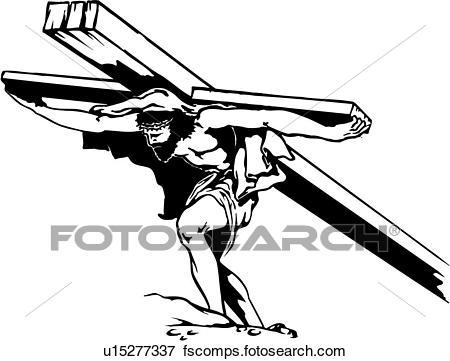 450x361 Clip Art Of Illustration, Lineart, Faith, Religion, Christian