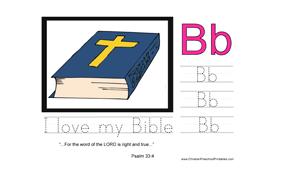 288x170 Scripture Alphabet The Letter B