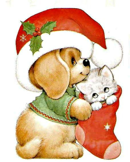 Merry Christmas Animals.Christmas Animals Clipart Free Download Best Christmas Animals