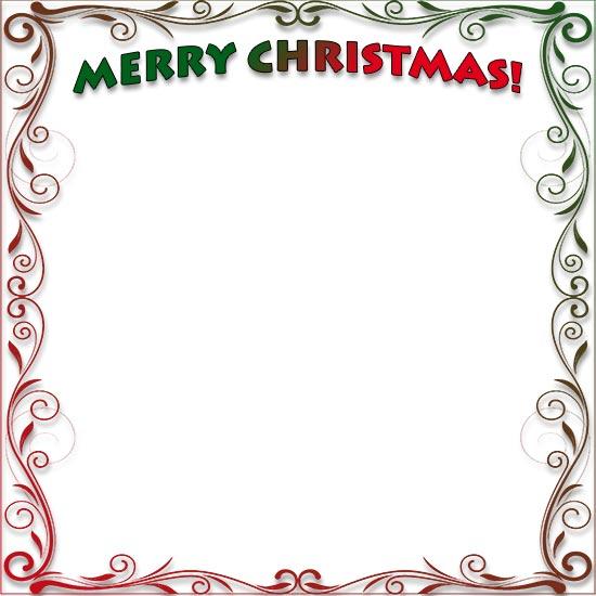 550x550 Free Christmas Borders