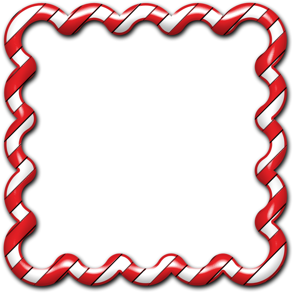 1000x1000 Candy Cane clipart boarder