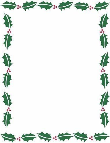 382x500 Christmas Borders For Microsoft Word Fishwolfeboro