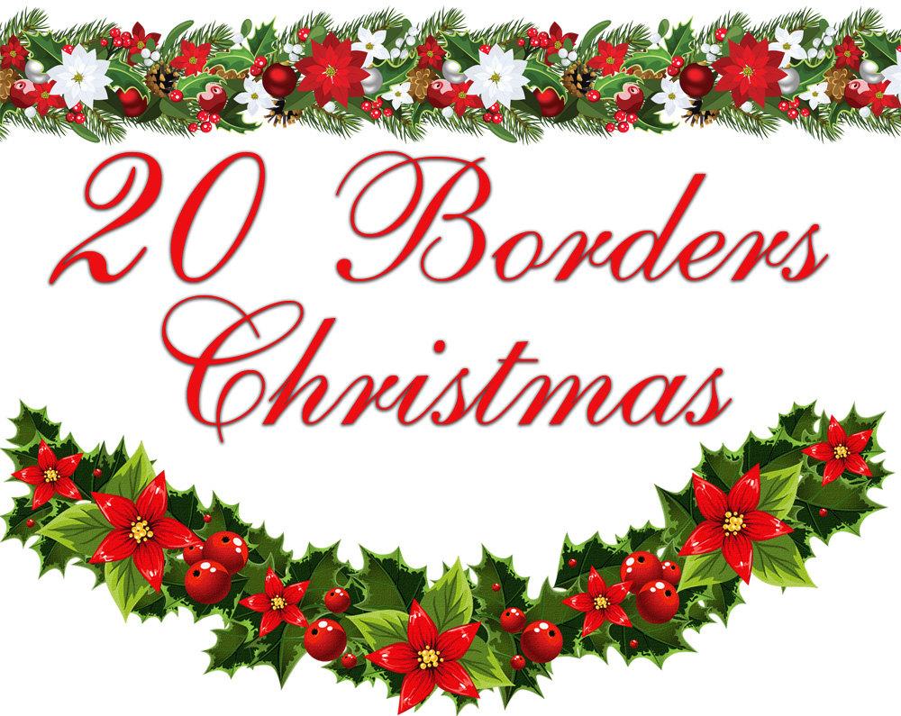 1000x795 christmas clipart borders free microsoft - Christmas Borders
